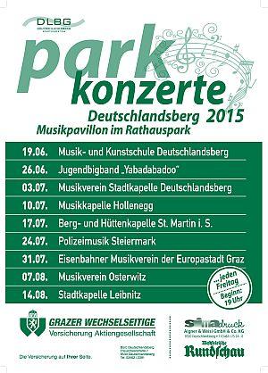Open Air Konzertreihen Stadtgemeinde Deutschlandsberg