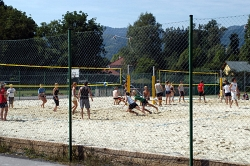 Beach-Volleyballpätze am Hörbinger Sportplatz